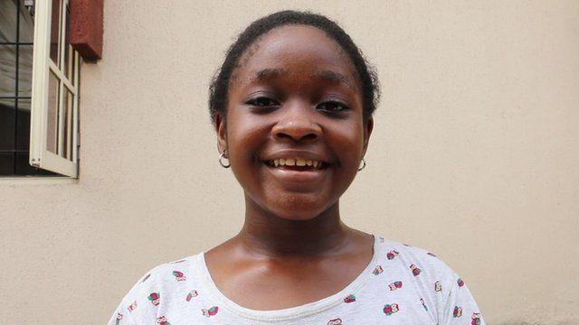 A young female Igbo speaker