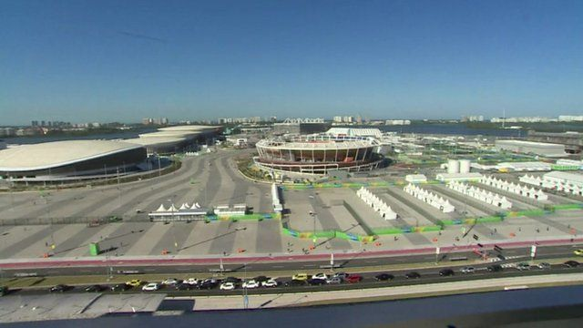 View of Rio Olympic Park