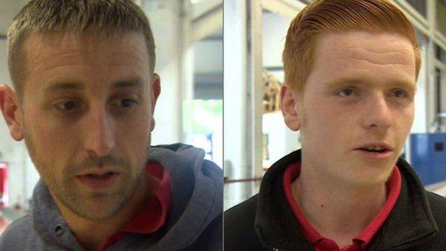 James Jones and Luke Payne