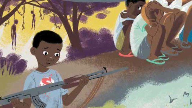 still from child soldier book