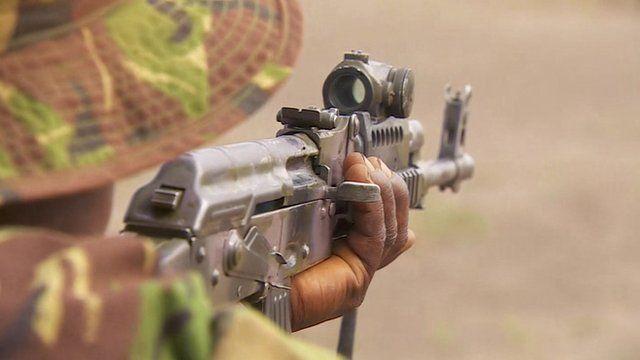 Member of anti-poaching force