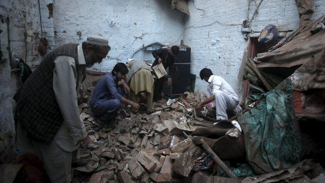 Strong earthquake hits Afghanistan and Pakistan