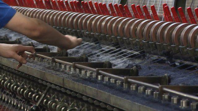 Tweed looms