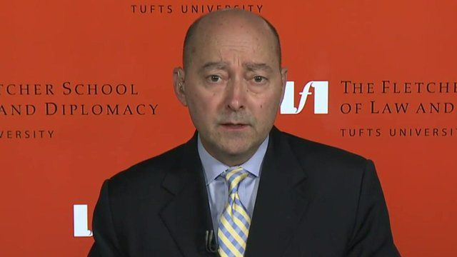 Adm James Stavridis speaks to the BBC