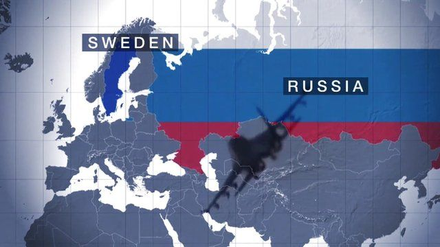 Sweden Vs Russia A New Cold War Front BBC News - Us map sweden