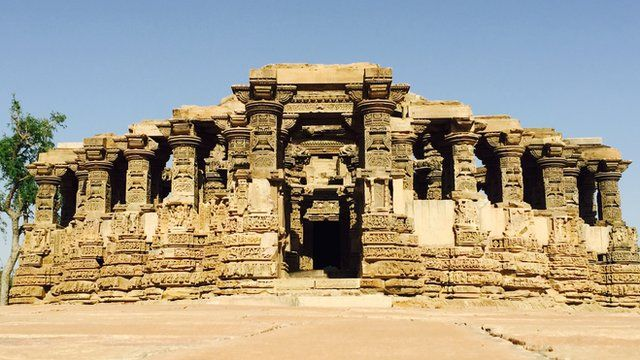 The ancient Kiradu temple in India's Barmer district