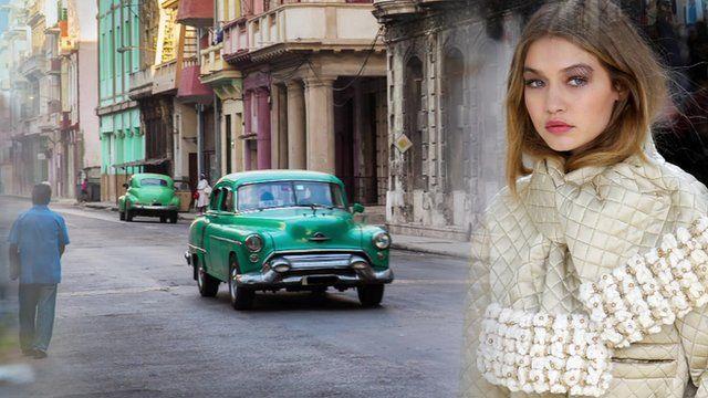 Chanel in Cuba