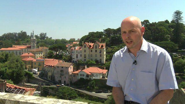 Theo Leggett in Sintra