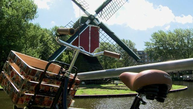 Bike and windmill