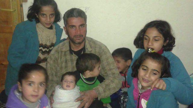 Ali al-Saho and the family he lost