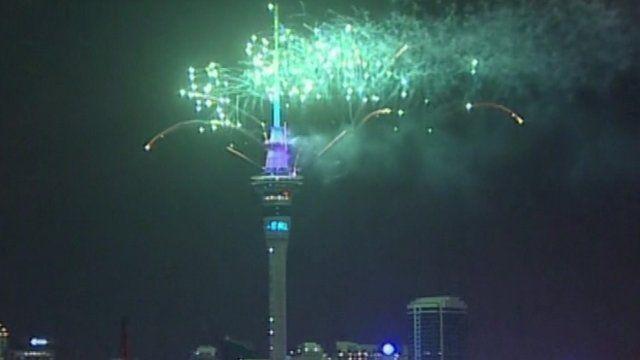 Fireworks New Zealand