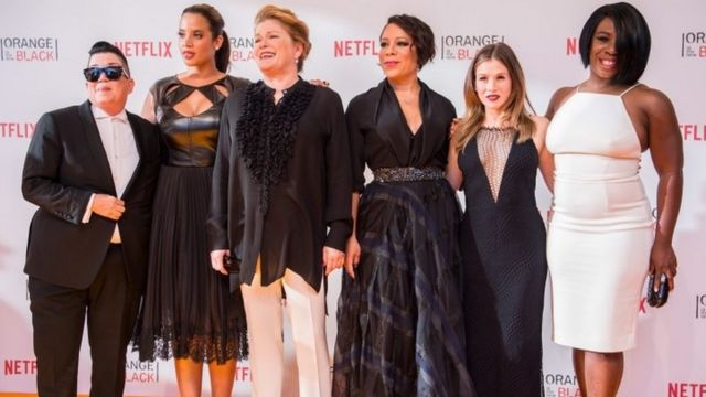 The cast of Orange if the New Black