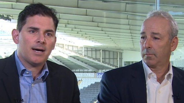 Jason Levien and Steve Kaplan say expanding the Liberty Stadium is 'top of our list'
