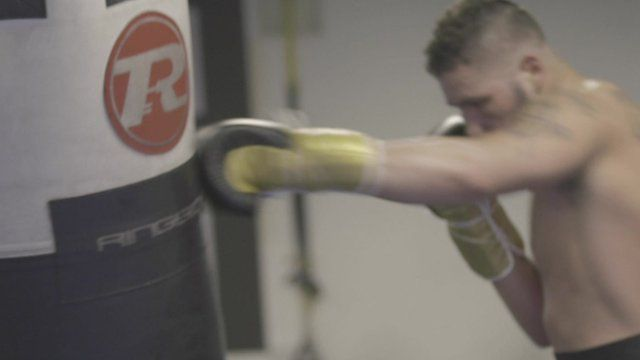 Tony Bellew training