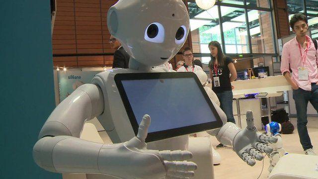 Pepper at Europe's biggest robotics exhibition
