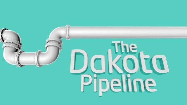 Dakota pipeline graphic
