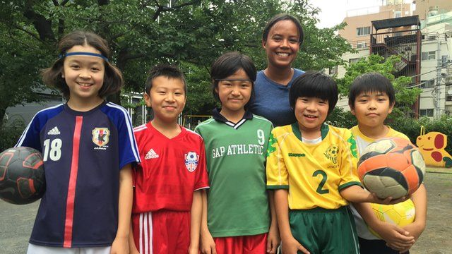 Kids from Japan and England tell us who they think will win the world cup