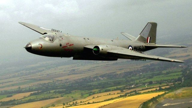 File photo of Canberra bomber WK163