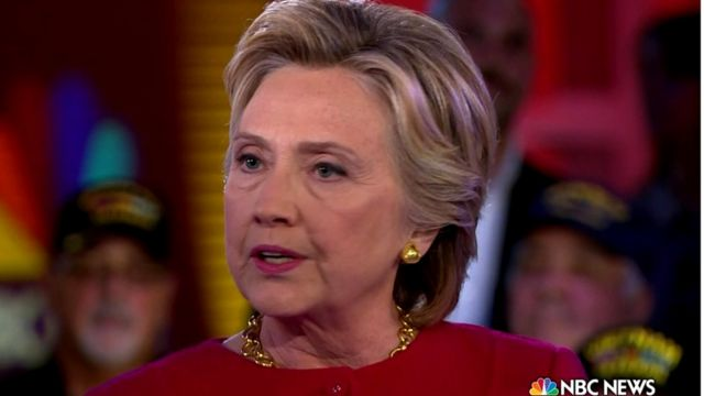 Hillary Clinton on NBC News