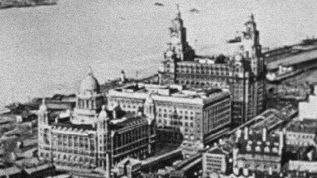 Liverpool Blitz: WW2 footage emerges of Nazi plans - BBC News