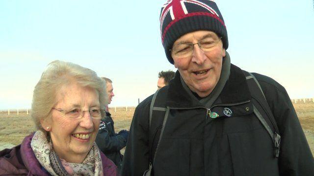 Tim Peake's parents