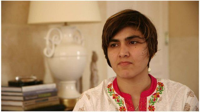 The number one female squash player in Pakistan tells the Taliban they will never win.