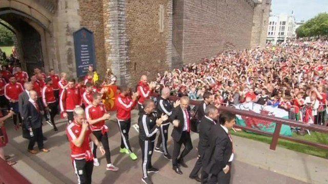Cardiff parade