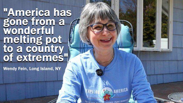 Wendy Fein, a Hillary Clinton supporter