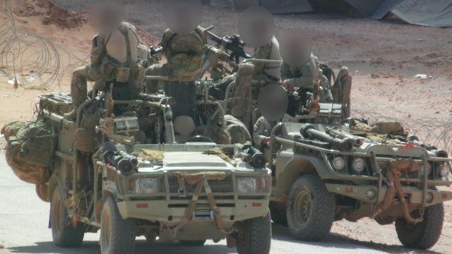 British special forces in Syria