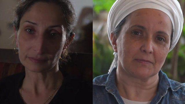 Azar Abu Srour and Rachel Dadon