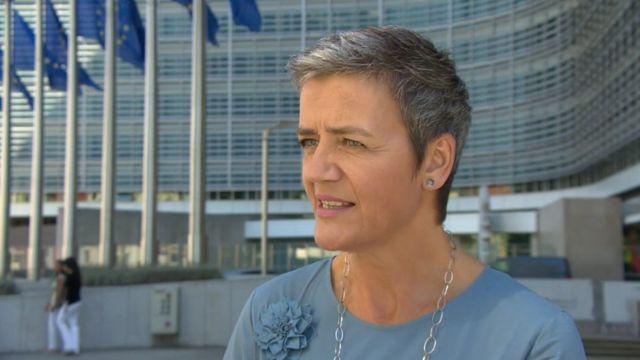 Margrethe Vestager, the European Commissioner for Competition