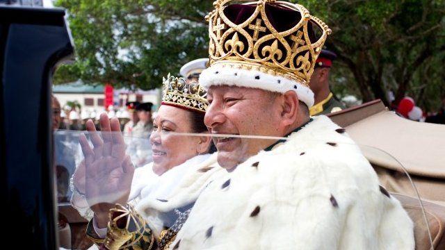 King Tupou VI and Queen Nanasipau'u