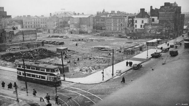 belfast during the blitz The blitz the second world war (1939 to 1945) had a profound impact on the people of belfast and the city itself because belfast was a major ship building port, it attracted attention in.
