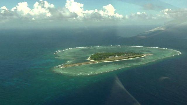 Island in South China Sea