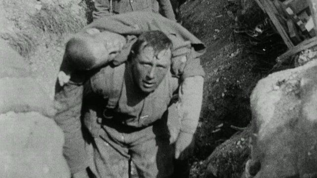 The documentary about the Somme features members of the Lancashire Fusiliers