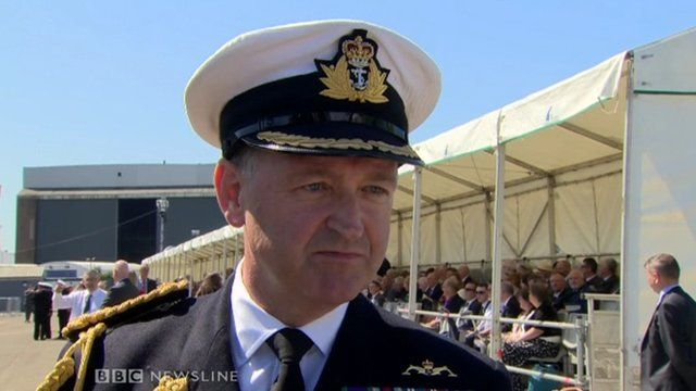 Commodore Martin Quinn