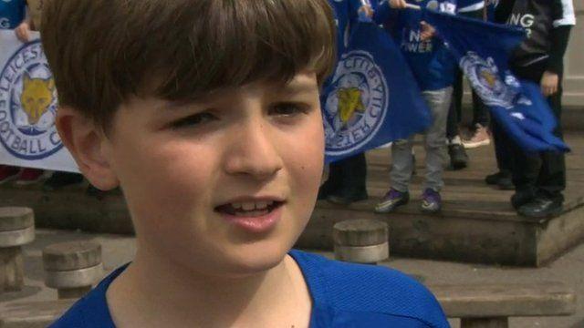 Leicester fan