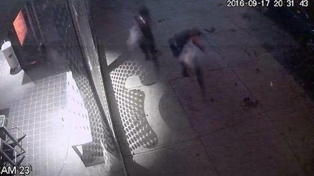 ニューヨーク爆発の瞬間 防犯カメラ映像