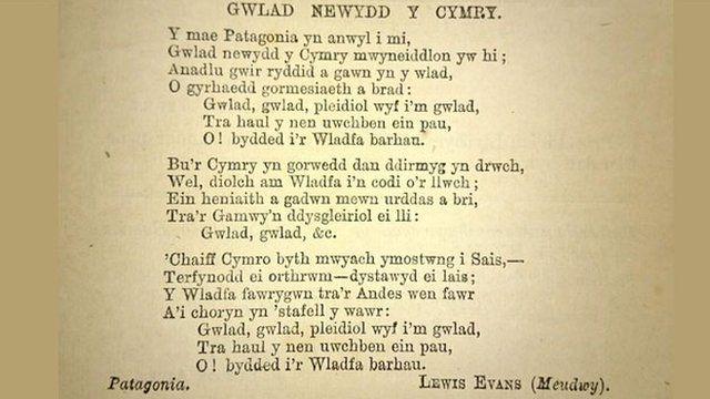 Anthem y Wladfa