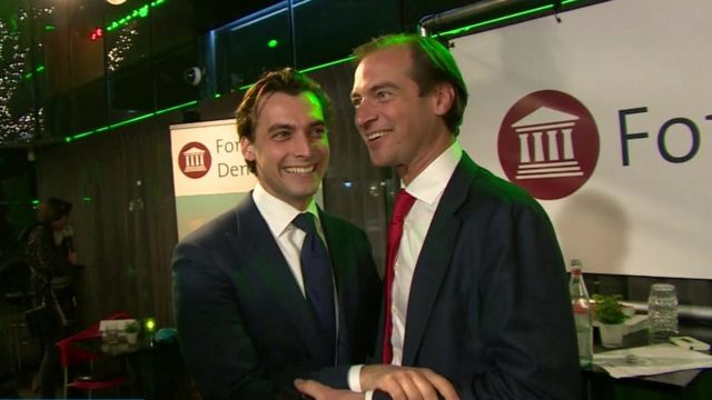 Eurosceptic activisits in the Netherlands