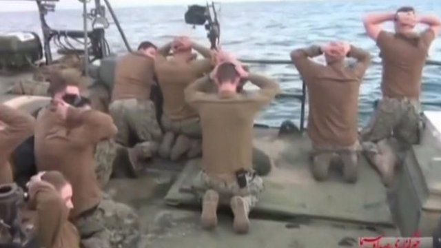 Tehran released 10 US sailors who entered Iranian waters