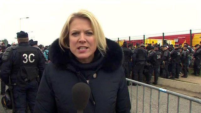 Sophie Long in Calais