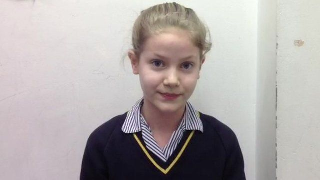 Tegan, School Reporter from Blackheath High School in London.