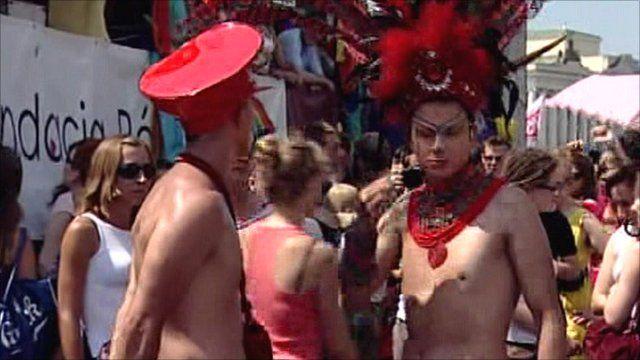 Warsaw gay pride parade