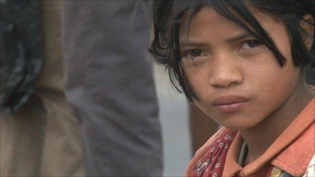 Girl in Madagascar