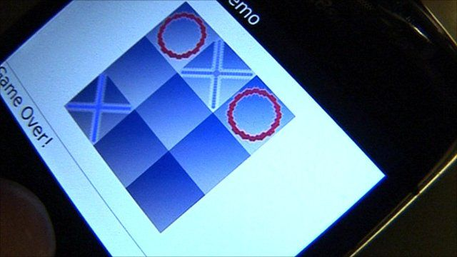 Fake phone application which could be used to get personal data