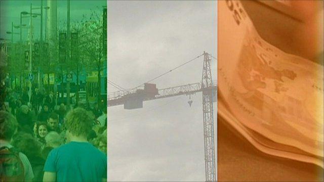Graphic of Irish Republic flag