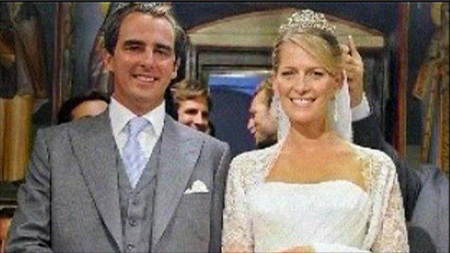 Prince Nikolaos and Tatiana Blatnik