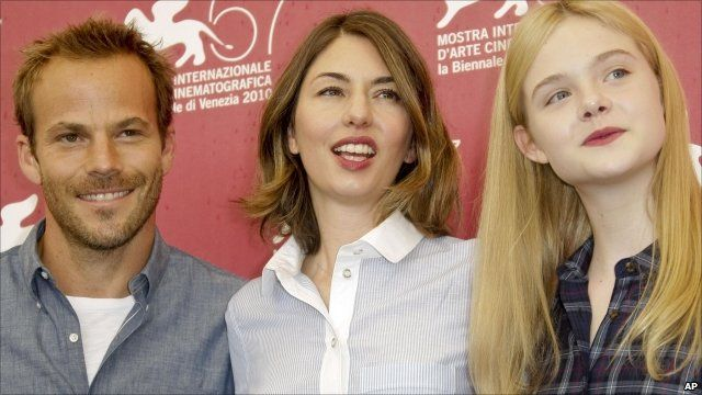 Stephen Dorff, Sofia Coppola and Elle Fanning
