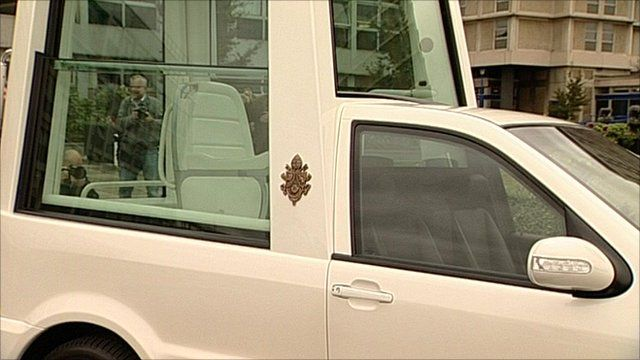 """The so-called """"Popemobile"""""""